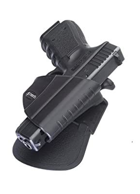 Fobus Roto Tactical Speed Holster Paddle RH GLT21RP GLOCK 21 , 20, 37 holds Handgun with Laser or Light