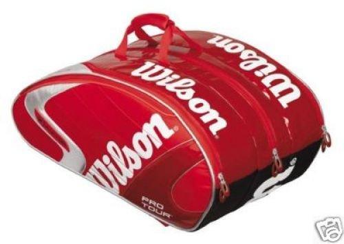 Wilson Tennistasche Pro Tour Super Six Bag, rot