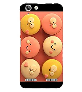 Cute Cup Cakes 3D Hard Polycarbonate Designer Back Case Cover for Lenovo Vibe K5 Plus :: Lenovo Vibe K5 Plus A6020a46 :: Lenovo Vibe K5 Plus Lemon 3