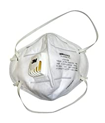 3M Particulate Respirator 9004V Mask, White, Pack of 10