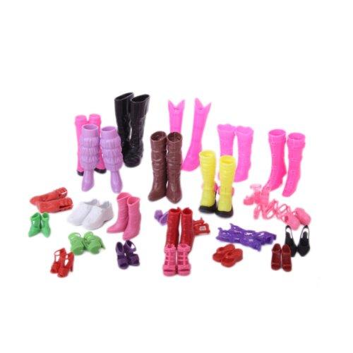 Moda 25 Paia Di Scarpe Diverse Per La Bambola Barbie