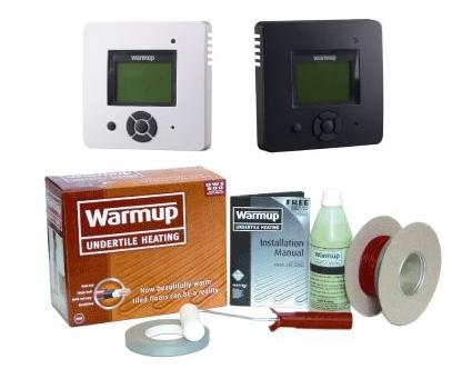 Warmup DWS 300 Underfloor Heating Kit C/W Xstat 1.5-2.4m2