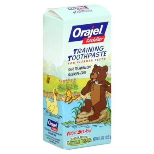 Orajel Toddler Training Toothpaste, Fruit Splash