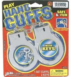 Play Hand Cuffs W/2 Keys by ja-ra - 1