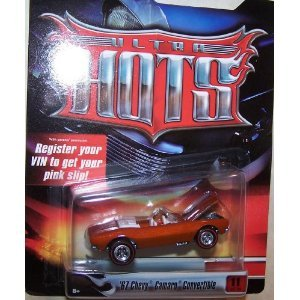 Hot Wheels 1/64 Scale Diecast Ultra Hots Series No#11 of 36 1967 Chevy Camaro... - 1