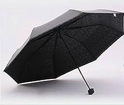 Black Skull Painting Umbrella Romantic Folding Classic Anti-Uv Sun/Rain Durable Automatic Umbrella Men