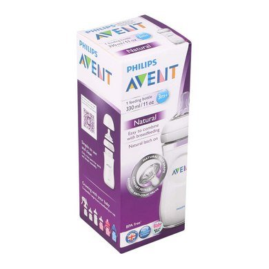 Phillips Avent Natural Feedding Bottles 330 Ml / 11 OZ (1pc Pack)