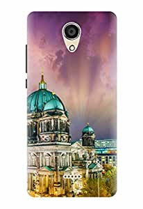 Noise Designer Printed Case / Cover for Micromax Canvas unite 4 Q427 / Patterns & Ethnic / City Of Magic Design