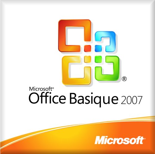 Microsoft Office Basic 2007 - Licence - 1 Pc - Oem, Mlk - Win - Français - V.2 - Avec Ms Office Professional 2007 (Vers