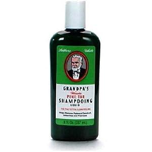 Grandpa's Soap Company Wonder Pine Tar Shampoo, 8 Ounce