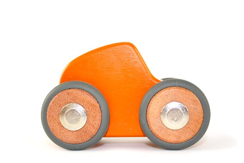 5 Piece Tegu Maddy Magnetic Wooden Block Car - 1