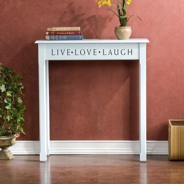 Cheap SEI Blue Cottage Console Table (CM9142)