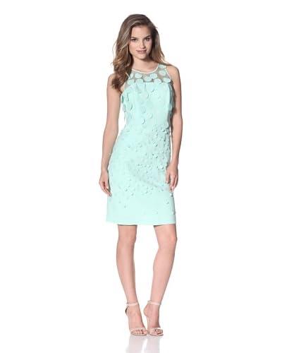 NUE by Shani Women's Crepe Dress  - Mint