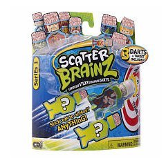 Scatter Brainz - Seriously Sticky Deranged Darts - Series 1 - 1