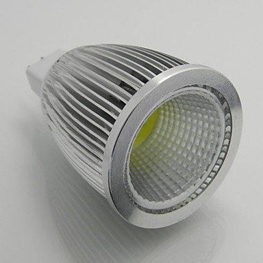 Rayshop - Led 1Pcs/Lot Dimmable 7W Mr16 Cob Spotlight Downlight Ac/Dc 12V Led Bulb Cold White 6000K