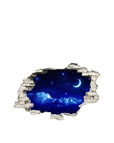 ZZ-Ambiance-sticker Vinilo Decorativo Landscape  In The Moon Light