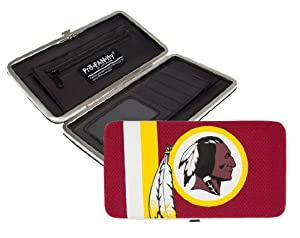 NFL Washington Redskins Shell Mesh Wallet by Littlearth