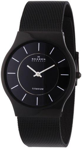 Skagen 233LTMB Gents Watch with Black Mesh Bracelet