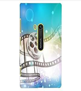 ColourCraft Musical Design Back Case Cover for NOKIA LUMIA 920