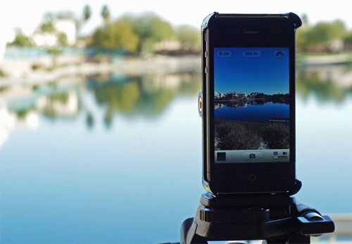 SnapMount Tripod Mount for iPhone 4