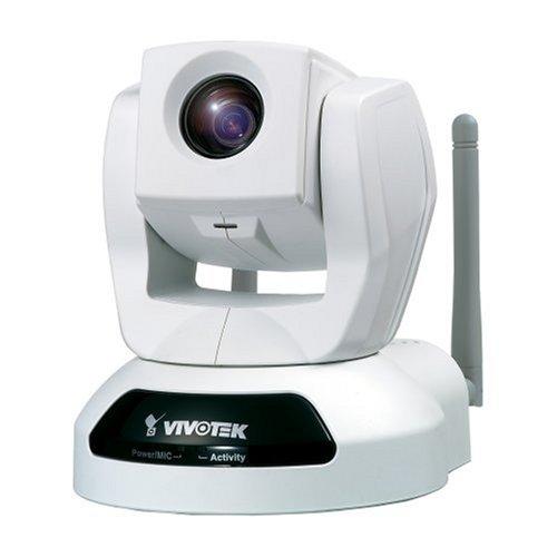 Vivotek PZ6114 Wireless PTZ 10X IP Network Security Camera