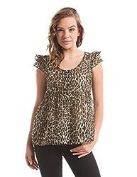 Shuffle Women's Plain Shirt (1021504101_Multi Color_Small)
