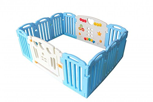 Great Features Of Baby Playpen Kids 14 Panel Safety Play Center Yard Home Indoor Outdoor Pen