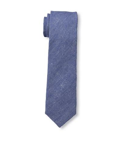 Gitman Vintage Men's Solid Woven Tie, Blue