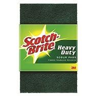 3M 220 Scotch-Brite Heavy Duty Scouring Pad-SCOTCH-BRITE 1 PACK PAD