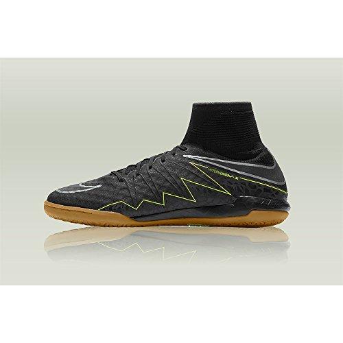 Nike Herren Hypervenomx Proximo Ic Fußballschuhe, Negro (Negro (Black/Black-Volt-Gum Light Brown)), 42.5 EU -
