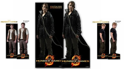 Hunger Games Movie Standee - Set of 3: Gale, Peeta and Katniss