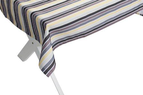 """Outdoor TISCHDECKE """"Antibes gelb-grau"""" Gartentischdecke Gartentisch Tisch Decke abwaschbar 140cmx240cm günstig"""