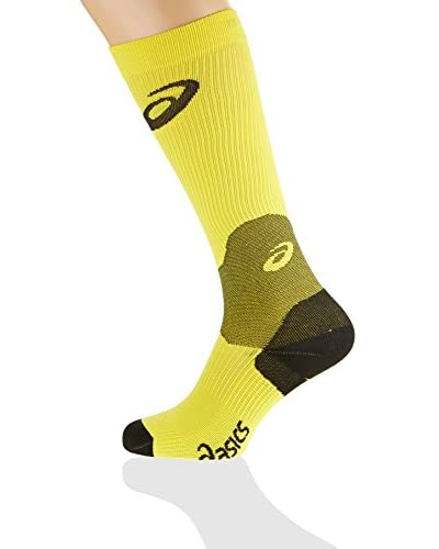 Asics Calcetines Compression Sock Amarillo