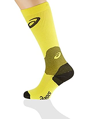 Asics Calcetines Compression (Amarillo)