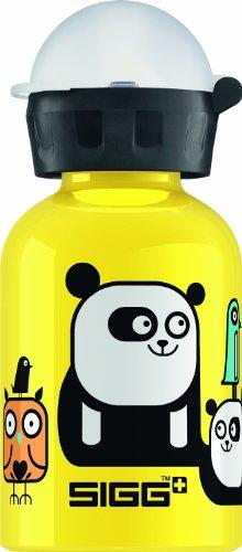 Sigg Animal Mix Up Mini Water Bottle, Yellow, 0.3-Liter front-1062756