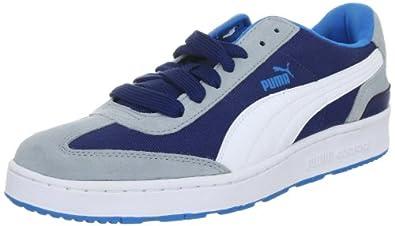 Puma Arrow FS 3 353377, Herren Sportive Sneakers, Blau (estate blue-white-quarry 09), EU 37 (UK 4) (US 5)