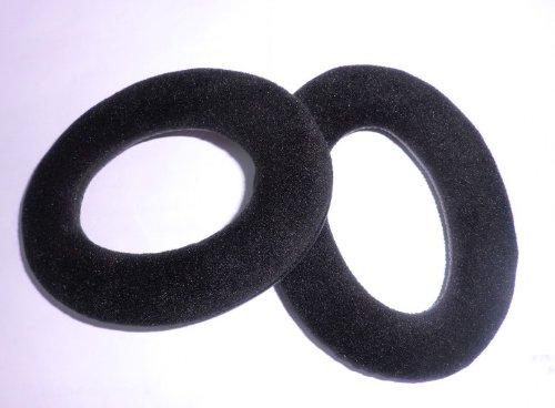 Black Headphone Ear Pads Earpad Ear Pad Cushion For Sennheiser Hd515 Hd555 Hd595 Hd518 Headphone Replacement