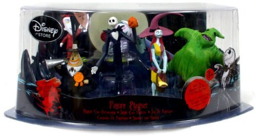 Visit Disney Tim Burton's The Nightmare Before Christmas Figure Play Set -- 7-Pc. Details