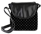 #2: Snoogg Love Polka Womens Sling Bag Small Size Tote Bag