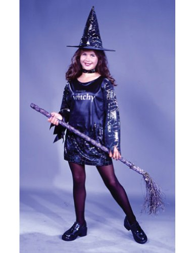 Little Witchy Child Sm Kids Girls Costume