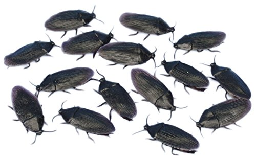 "Loftus Bag of Creepy Cockroaches 2"" Decoration Pack Black - 1"