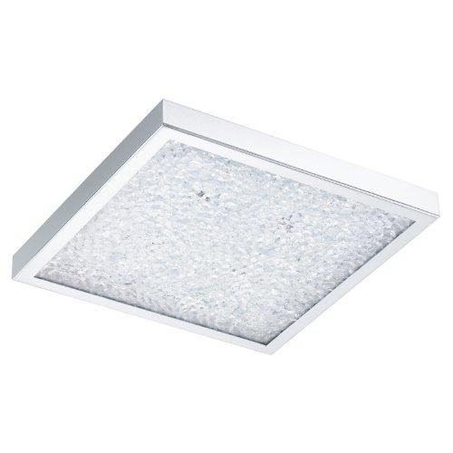 LED-Deckenleuchte 4-flammig Cardito Größe: 7,5 cm H x 36,5 cm B x 36,5 cm T