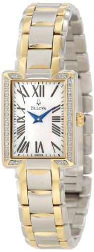 Bulova Women's 98R157 Two tone bracelet Watch
