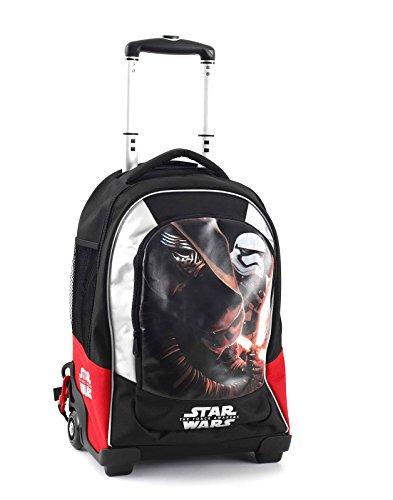 5274294314 Star Wars Zaino Trolley Scuola Estensibile con Spada in Omaggio ...