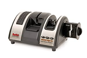 Smith's 50023 Diamond Edge Pro Electric Knife and Scissors Sharpener