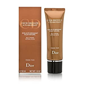 Christian Dior Bronze Self Tanner Natural Glow for Face Cream for Unisex, 1.8 Ounce