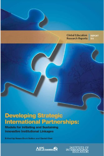 Developing Strategic International Partnerships: Models...