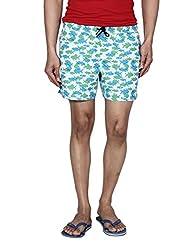 Hammock Printed Mens Beach Shorts(H20K31J502OS)