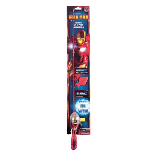 Shakespeare Youth Ironman Lighted Fishing Kit