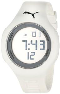 PUMA Unisex PU910801027 Loop Sports Lifestyle Digital White Watch from PUMA